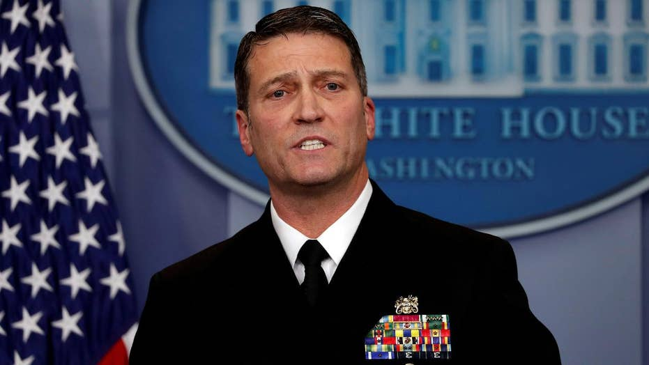 Critics question whether Ronny Jackson is ready to lead VA