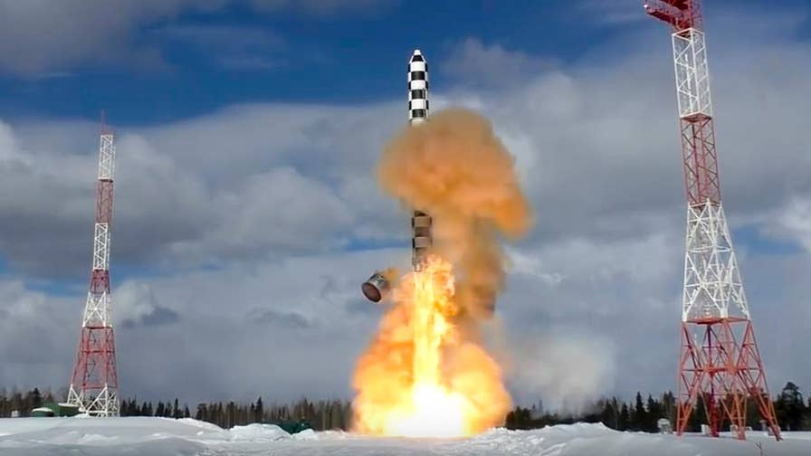 Russia tested its new intercontinental ballistic missile for the second time. Benjamin Hall reports from London.