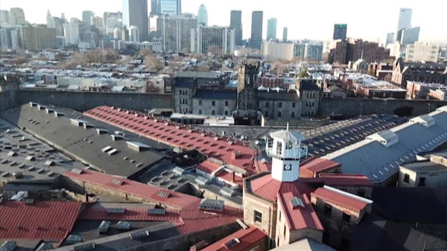 Jon Scott goes behind the walls at the world's oldest penitentiary in Philadelphia, Pennsylvania.