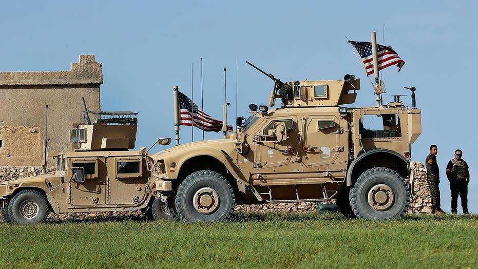 US servicemember killed in Syria