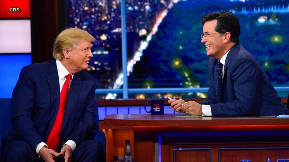 Stephen Colbert 'apologizes' to Trump, calls out CNN 'lies'