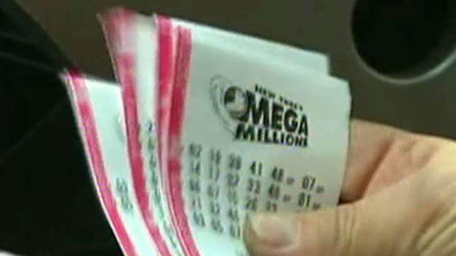 The $521 million jackpot has been won.
