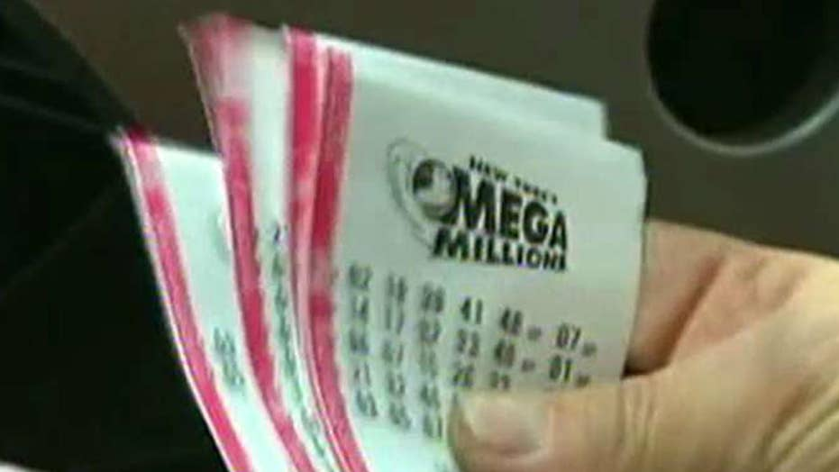 Winning Mega Millions ticket sold in New Jersey