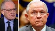 Alan Dershowitz: Sessions handling DOJ probe the right way