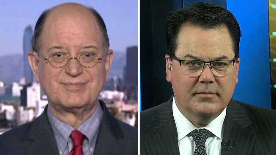 Democratic Congressman Brad Sherman and Shawn Nelson, vice chair of the Orange County Board of Supervisors, join the debate on 'Fox News Sunday.'