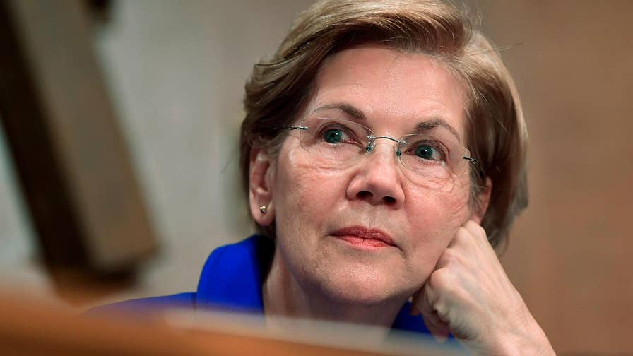 Senator Elizabeth Warren addresses 'chaotic foreign policy' during speech in China.