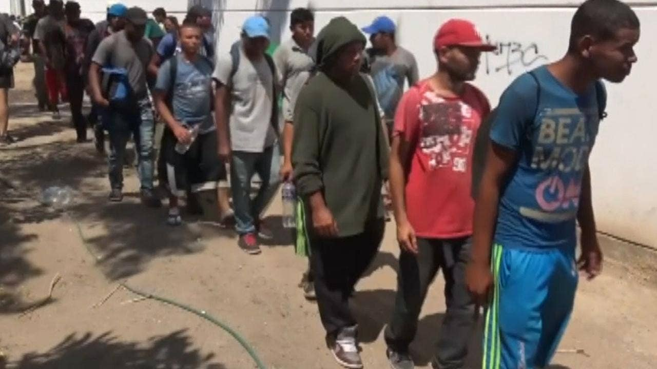 Image result for DHS boss threatens 'caravan' border-crossers with prosecution, detention, deportation