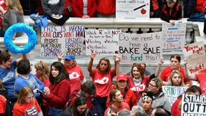 Thousands of teachers in Kentucky and Oklahoma are rallying at both state Capitols in an effort to get lawmakers to approve additional educational funding. Here is what you need to know.