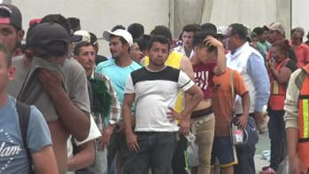 President Trump calls for tougher immigration reform after reports of a caravan from Central America headed to the U.S. William La Jeunesse has the details.