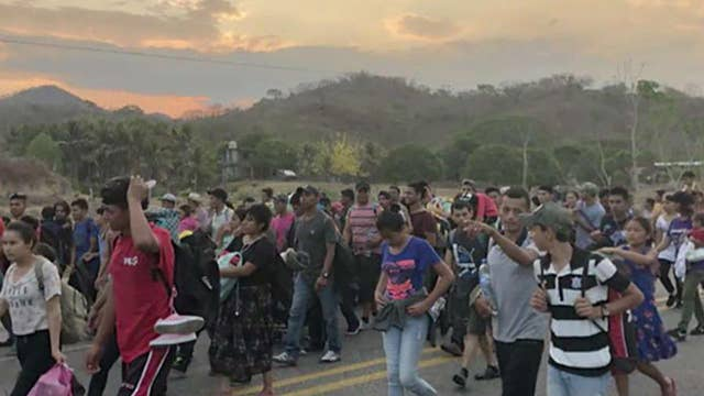 What happens when migrants enter the US?