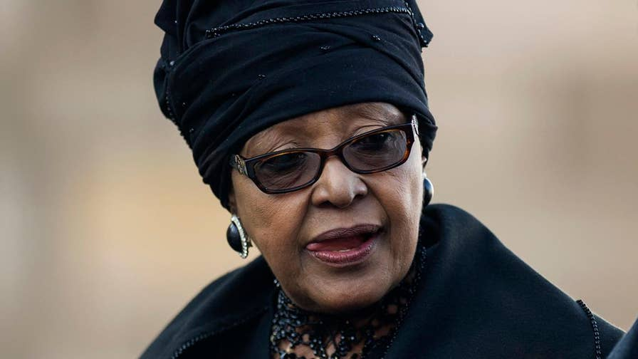 Nelson Mandela's wife dead, personal assistant reports.