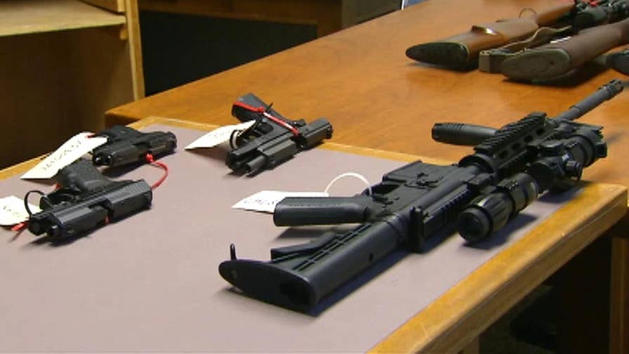 Seattle police are enforcing the legal seizure of guns from residents believed to be a danger to themselves or others. Dan Springer reports live from Seattle.