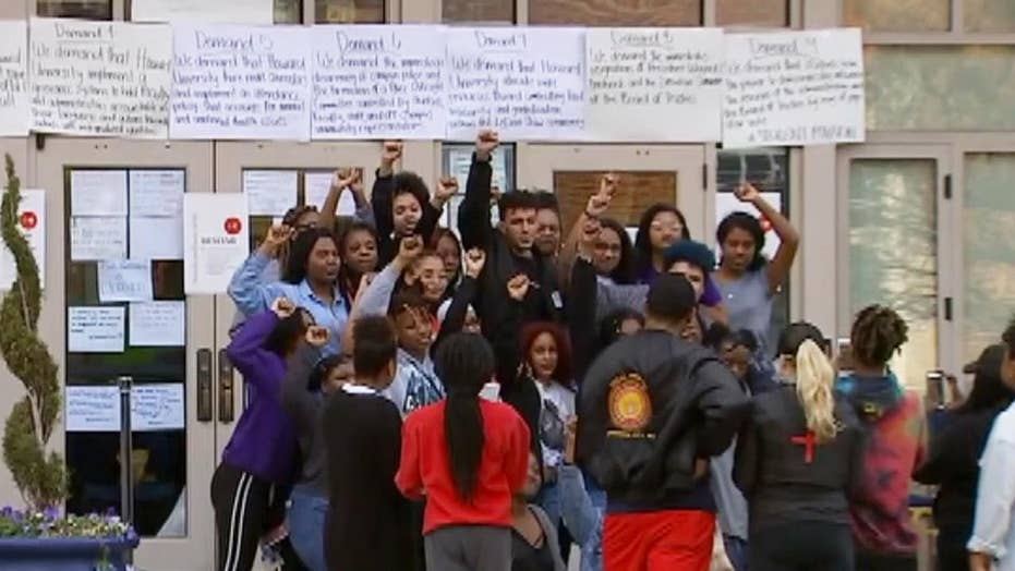 Howard students occupy admin building