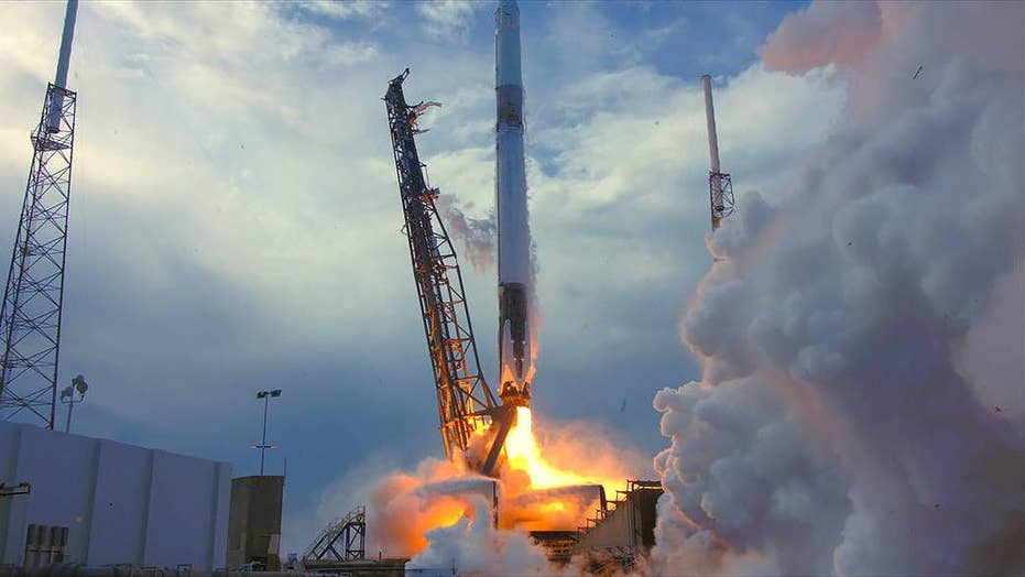 Watch: SpaceX Falcon 9 launch