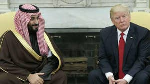 The Saudi crown prince launches a charm offensive and is seen as a change agent. Former Green Beret commander Lt. Col. Michael Waltz and Fox News contributor Ari Fleischer react on 'The Story.'