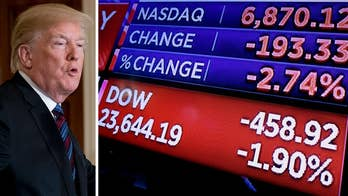 From China to Amazon, investors have been spooked by the president's attacks on Twitter; Deirdre Bolton shares details.