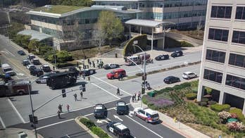 Shots fired at the YouTube headquarters in California; Claudia Cowan reports from San Bruno.