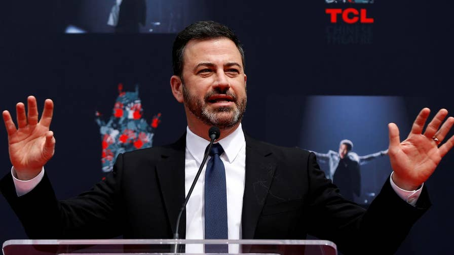 Late-night host Jimmy Kimmel made fun of first lady Melania Trump's appearance at the White House Easter Egg Roll. Included in the jokes was a quip about her accent, something some on social media found offensive.