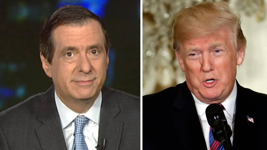 'MediaBuzz' host Howard Kurtz weighs in on President Trump's increased attacks on the media, including CNN, Jim Acosta and Washington Post owner Jeff Bezos.