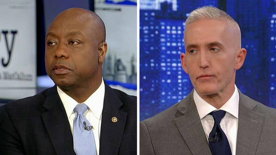 South Carolina lawmakers Trey Gowdy and Tim Scott, authors of the new book 'Unified,' react to latest on Russia probe on 'The Story.'