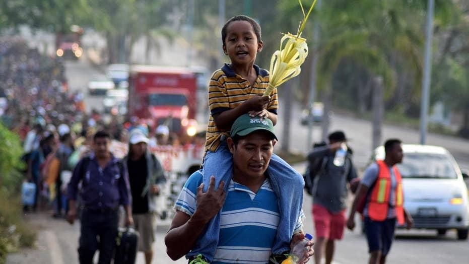 Trump slams Mexico as asylum seekers approach US border