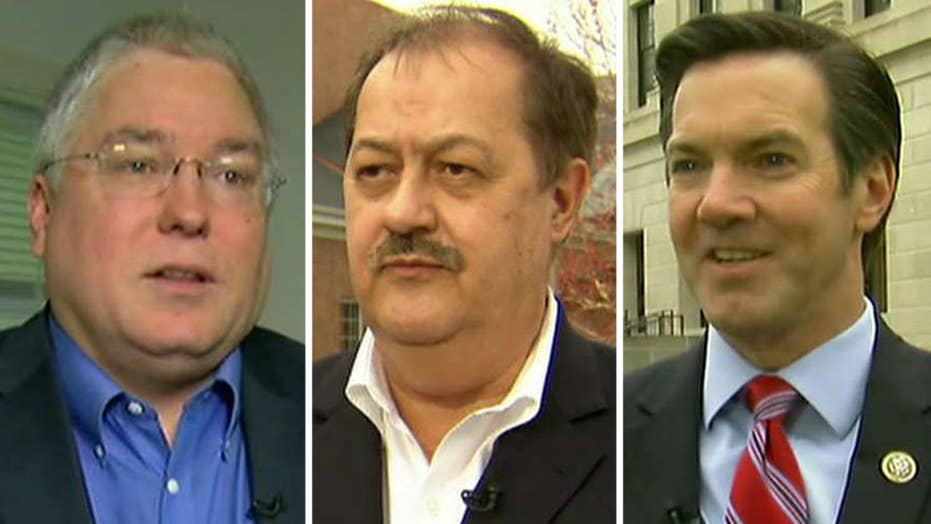 West Virginia GOP Senate candidates in a 3-way race