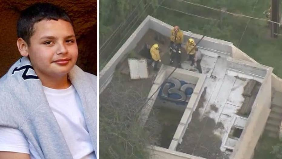 Boy trapped in toxic sewage pipe for over 12 hours rescued