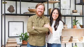 Chip Gaines posted a sweet message for his wife Joanna on her 40th birthday Thursday.