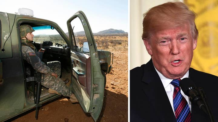 Trump plans to mobilize National Guard to secure border