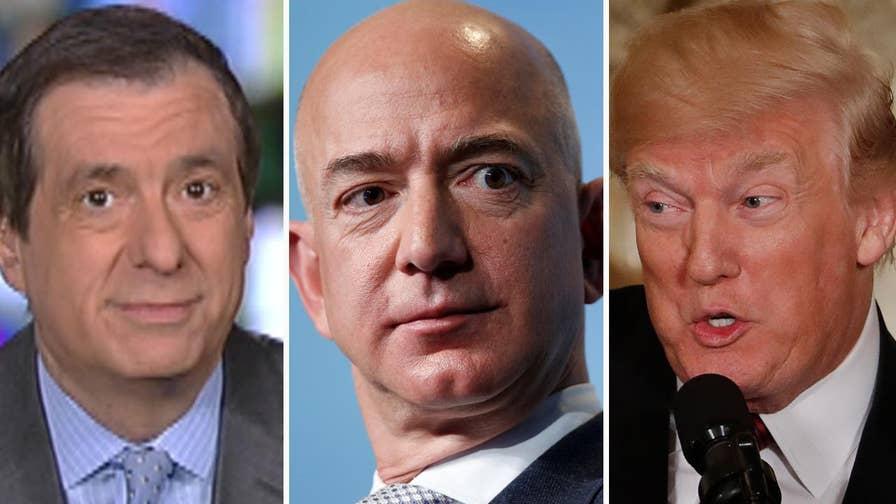 'MediaBuzz' host Howard Kurtz weighs in on Trump's escalating criticism of Amazon CEO Jeff Bezos.