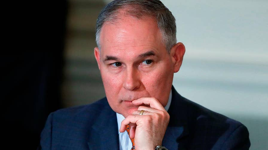 EPA Administrator Scott Pruitt spoke out about controversial pay raises for his staff members and more in a wide-ranging interview with Fox News' Ed Henry; details on 'The Story with Martha MacCallum.'