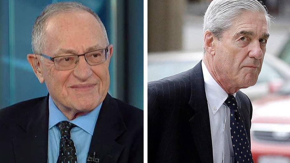Alan Dershowitz on developments in the Mueller probe