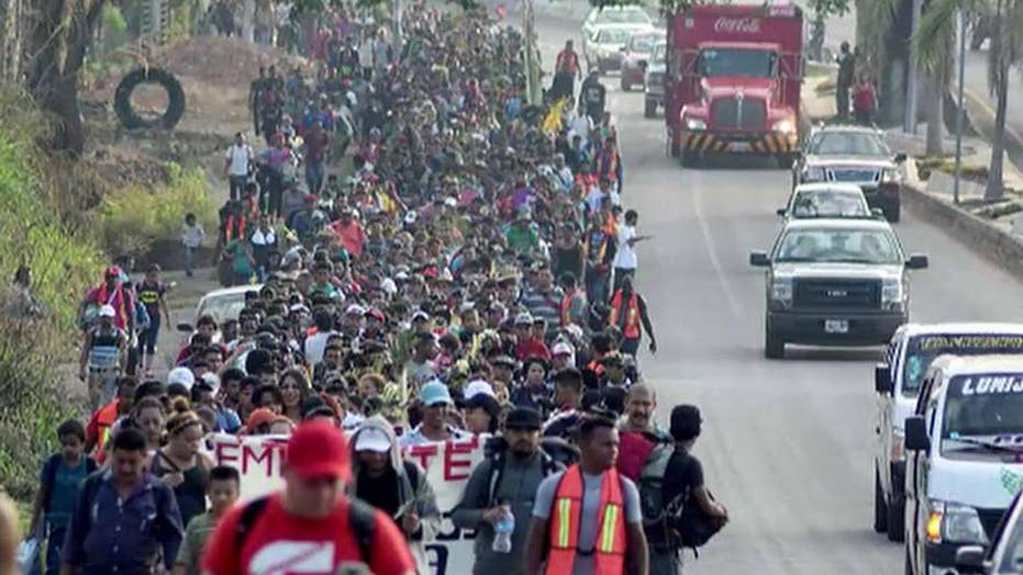 Mexico says it will disband the migrant caravan
