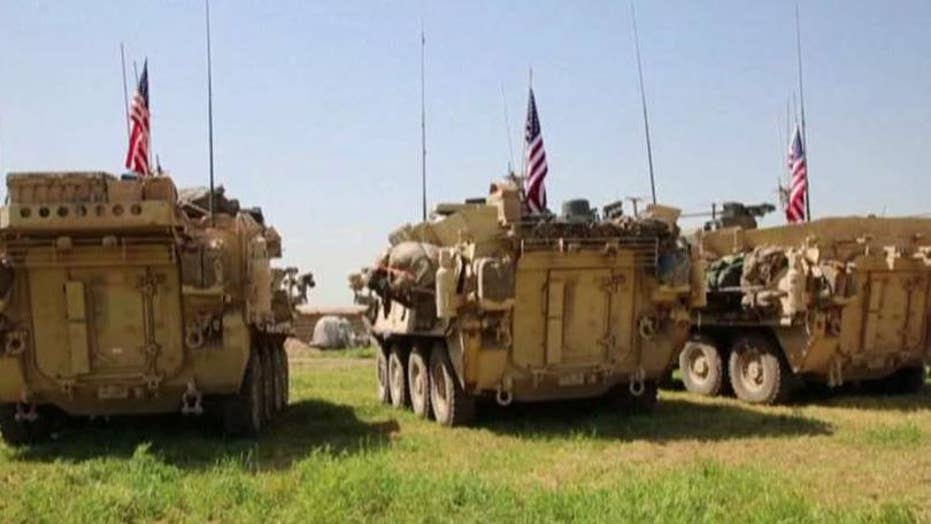 White House: US mission in Syria coming to 'rapid end'