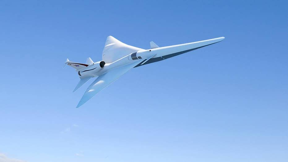 NASA has eyes on quieter supersonic aircraft