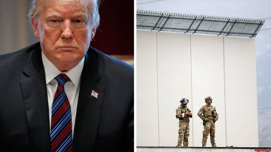 Trump deploys National Guard to the border