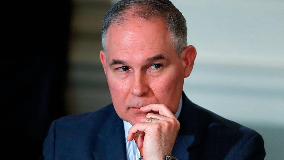 EPA chief Pruitt addresses criticism in Fox News interview