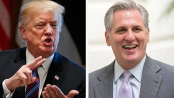 Trump, McCarthy looking at cuts to spending bill