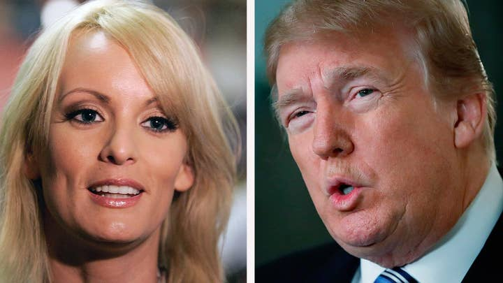 Trump denies knowledge of payment to Stormy Daniels