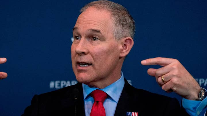 New questions for embattled EPA chief Scott Pruitt