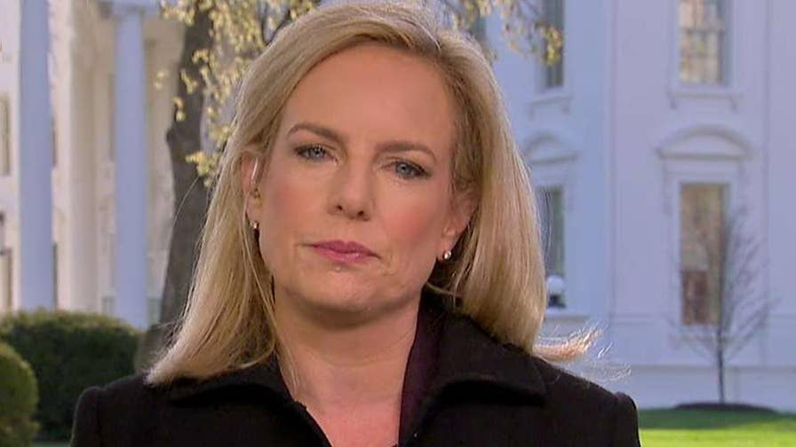 On 'Fox & Friends,' DHS Secretary Kirstjen Nielsen calls on Congress to work with her on legislation.