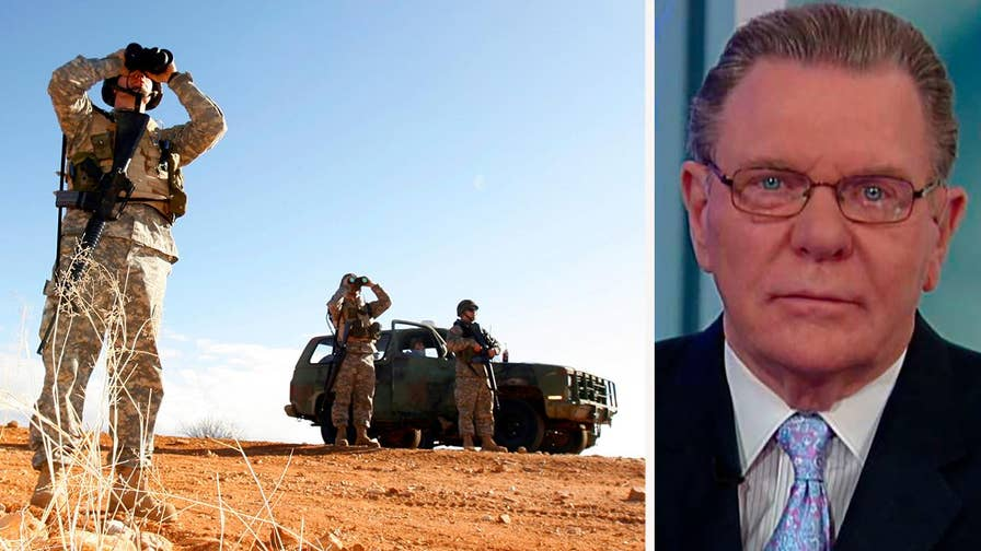 Fox News military analyst General Jack Keane reacts to President Trump's decision to deploy National Guard to our southern border, offering insight on what type of role the Guardsmen will play.