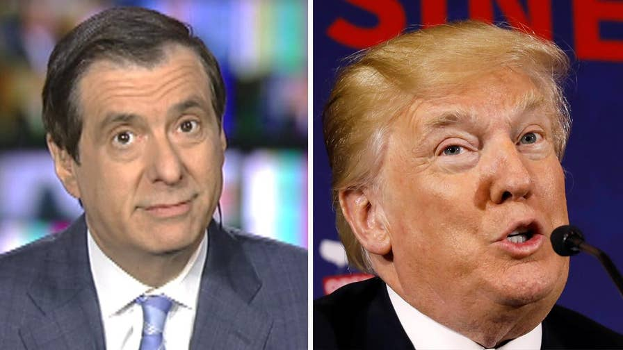 'MediaBuzz' host Howard Kurtz weighs in on President Trump's process of making bold announcements on Twitter even though his staff might be unaware. Could this just be a shrewd negotiating tactic?