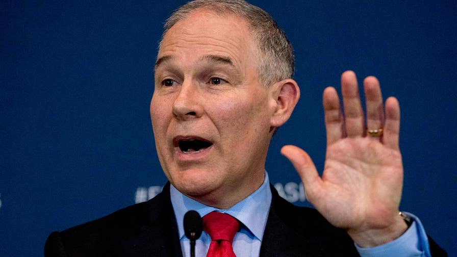 Condo rented by President Trump's embattled EPA administrator may present conflict of interest for Pruitt; chief national correspondent Ed Henry reports from Washington.