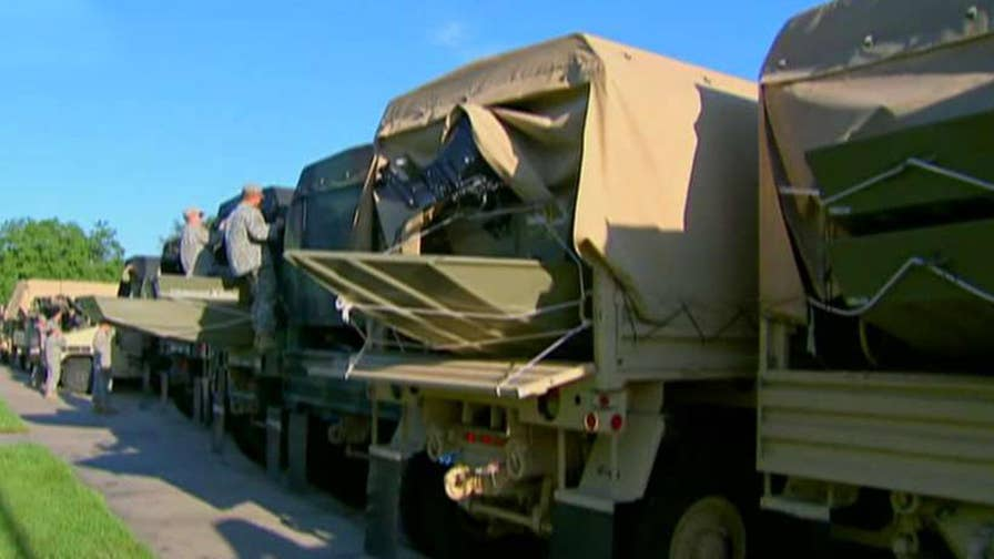 Pentagon preparing for national/guard deployment at the border; reaction and analysis on 'The Five.'