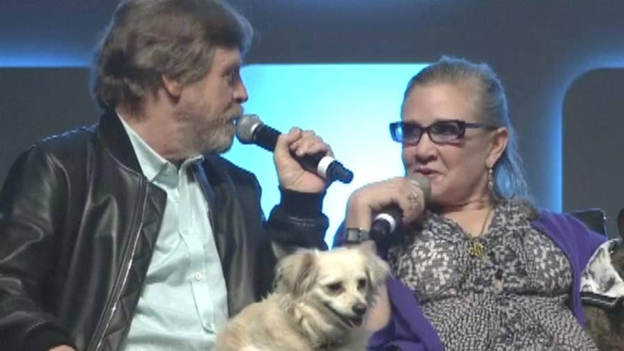 Top Talkers: Hamill's not on board with the idea of recasting the iconic Princess Leia role.
