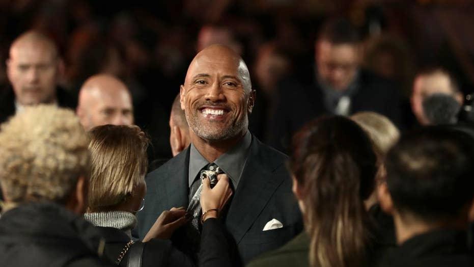 Dwayne  'The Rock' Johnson running for president?