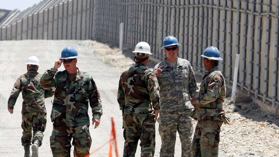 Most border-state governors support idea of border troops