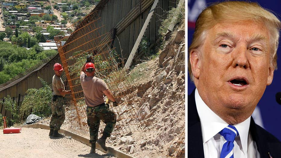President Trump explains need to secure Mexican border