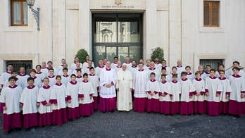 """The Sistine Chapel Choir from Rome, commonly recognized as """"the Pope's Choir,"""" announces their first-ever u.S. National tour. Choir members Mark Spyropoulos, Diego Gaston Zamudio and Stefano Guadagnini discuss what it's like to bring the oldest and most respected active choir in the world to America."""
